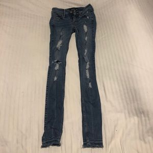 Hollister Distressed/ Ripped Jeans